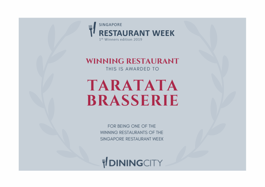 Taratata Brasserie - Dining City Winner's Edition