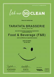 SG Clean Certificate